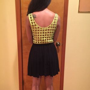 NWOT Black backless sundress from Pacsun